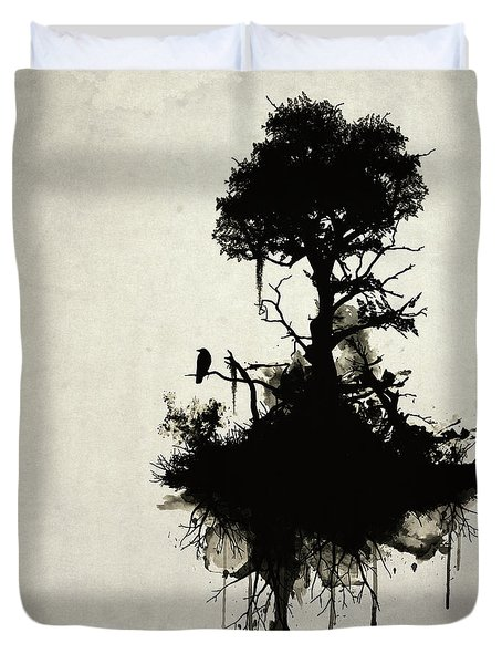 Last Tree Standing Duvet Cover by Nicklas Gustafsson
