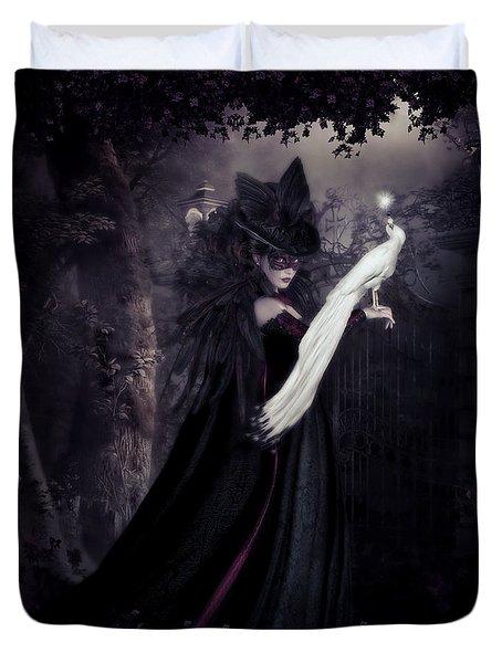 Secret Garden Duvet Cover by Shanina Conway