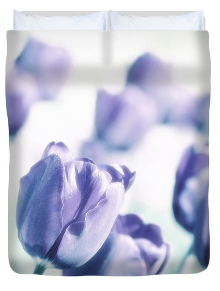 Spring Love II Duvet Cover by Angela Doelling AD DESIGN Photo and PhotoArt