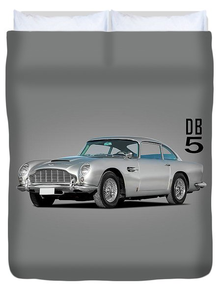 Aston Martin Db5 Duvet Cover