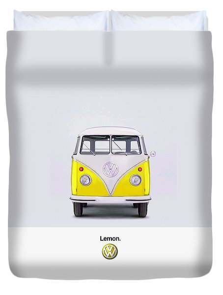 Lemon Duvet Cover
