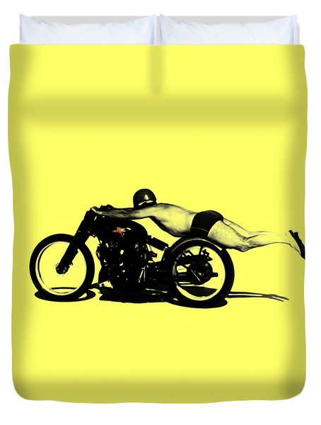 Roland Rollie Free Duvet Cover