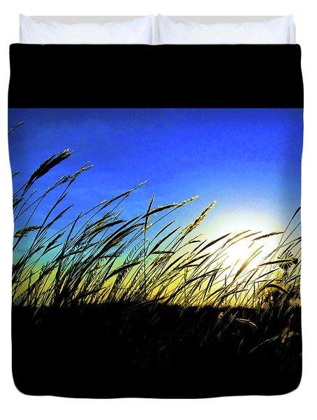 Tall Grass Duvet Cover by Bill Kesler