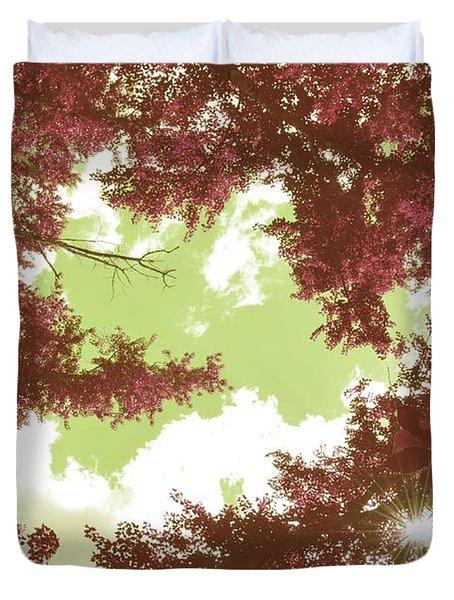 The Glimpse Sublime Duvet Cover