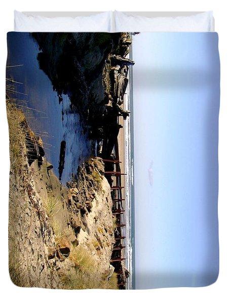 Rockaway Beach Duvet Cover