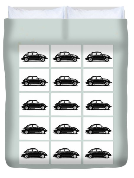 Vw Theory Of Evolution Duvet Cover