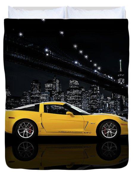 Corvette Z06 Gt1 Duvet Cover