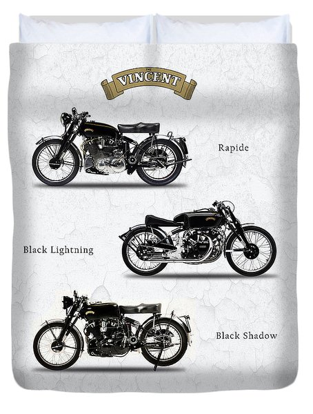 The Vincent Collection Duvet Cover by Mark Rogan