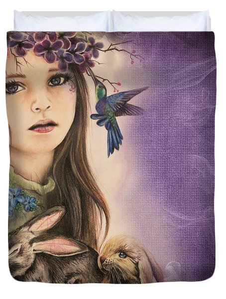 Spring  Duvet Cover by Sheena Pike