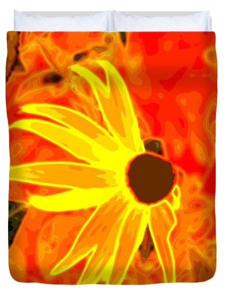 Glowing Embers Duvet Cover