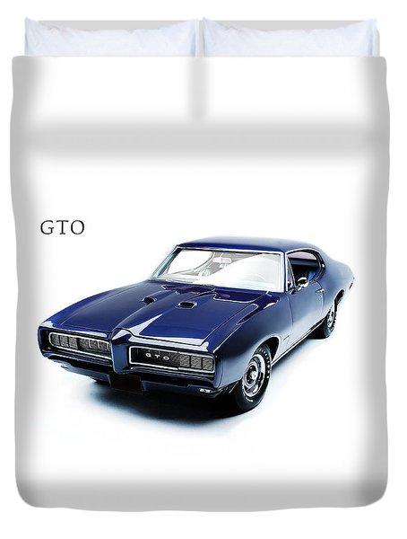 Pontiac Gto Duvet Cover