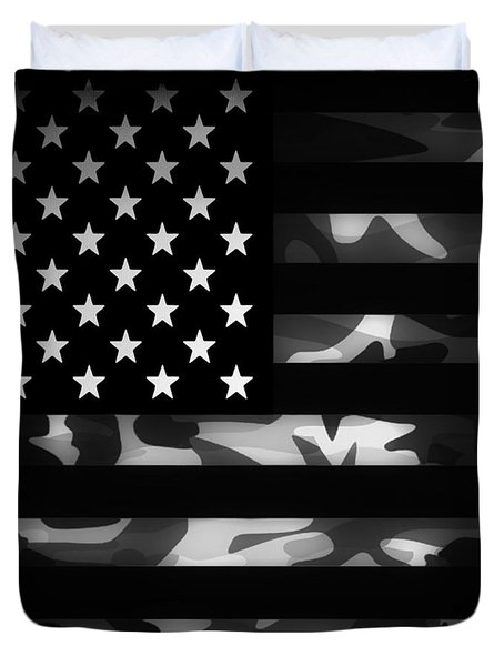 American Camouflage Duvet Cover