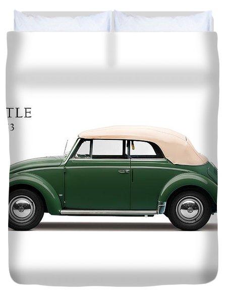 Vw Beetle 1953 Duvet Cover