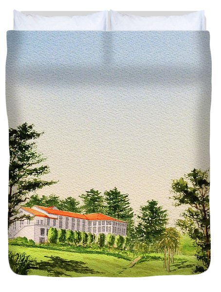 The Olympic Golf Club - 18th Hole Duvet Cover