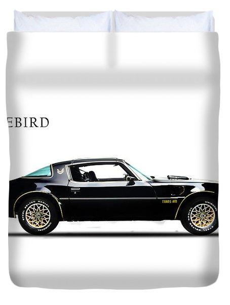 Pontiac Firebird Duvet Cover
