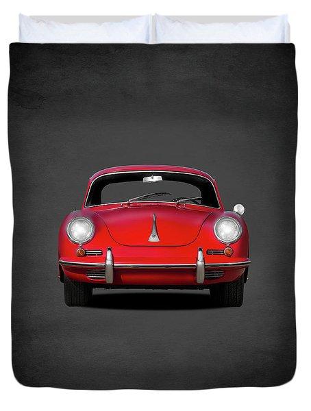 Porsche 356 Duvet Cover