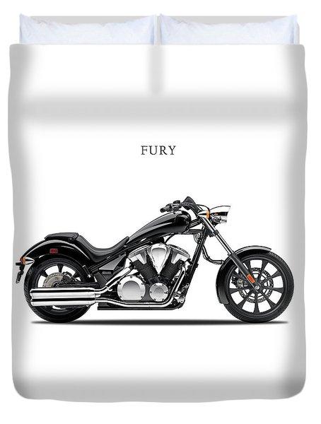 Honda Fury Duvet Cover by Mark Rogan