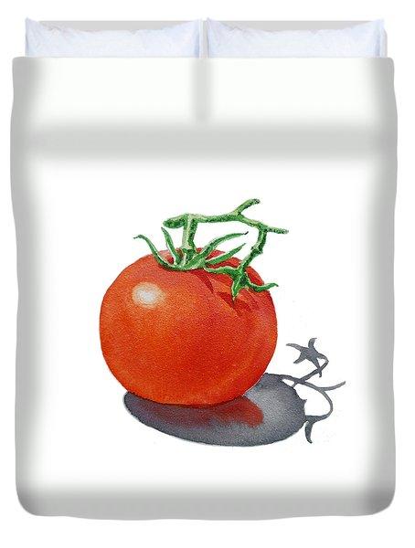 Artz Vitamins Tomato Duvet Cover