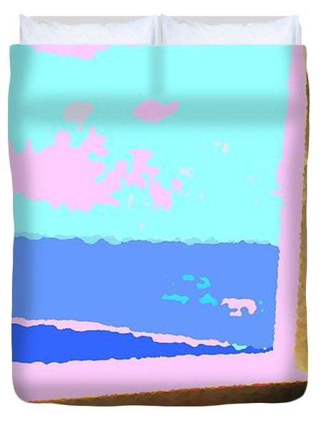 Aruba Duvet Cover by Ian  MacDonald