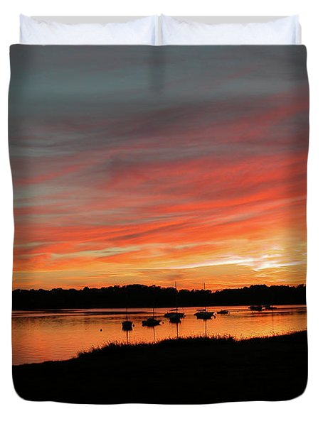 Arzal Sunset Duvet Cover
