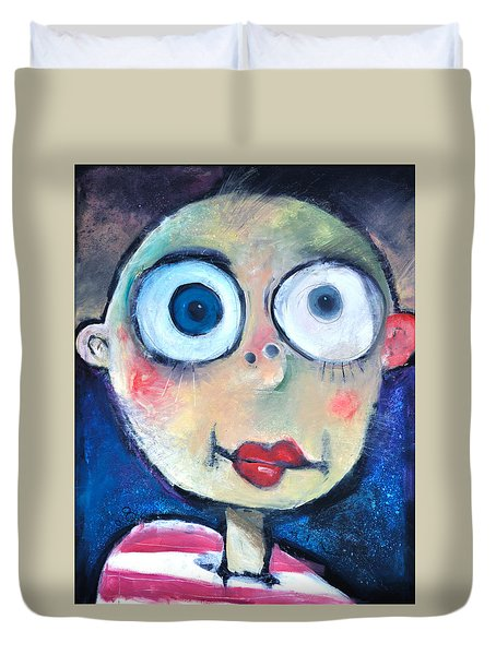 As A Child Duvet Cover by Tim Nyberg