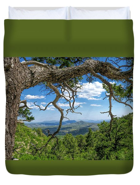 'as Far As The Eye Can See' Duvet Cover by Charles Ables