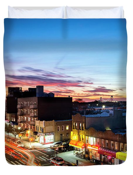 As Night Falls Duvet Cover