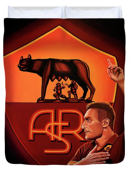 As Roma Painting Duvet Cover