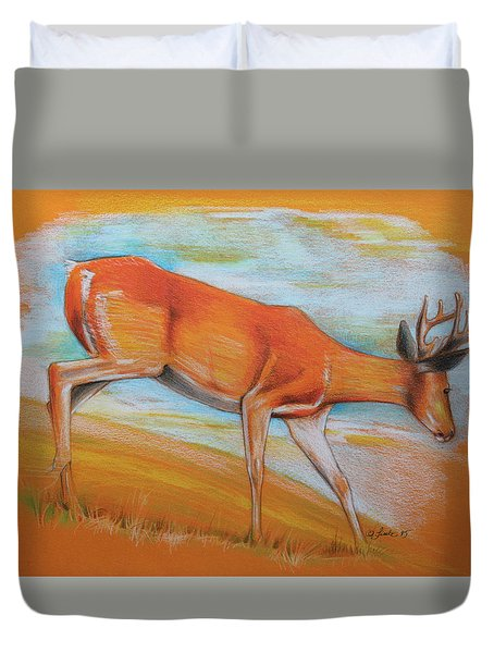 As Summer Ends Duvet Cover