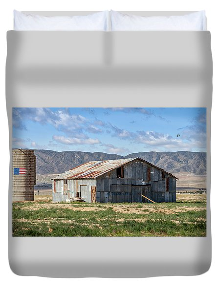 As The Crow Flies Duvet Cover