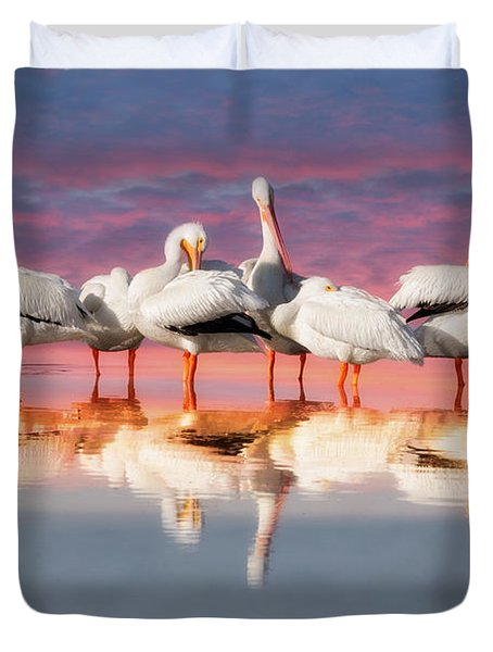 As The Sun Goes Down Duvet Cover