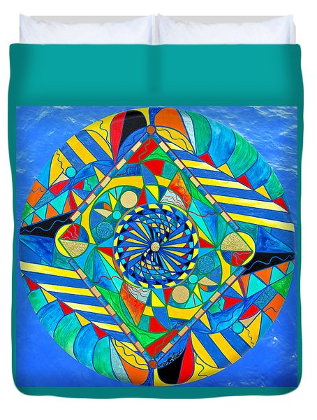 Ascended Reunion Duvet Cover