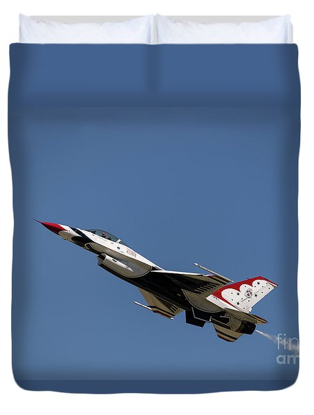 Duvet Cover featuring the photograph Ascending by Andrea Silies