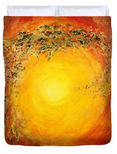 Ascending Light Duvet Cover by Tara Thelen - Printscapes
