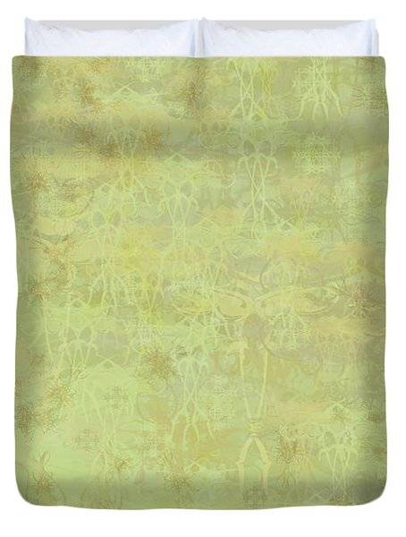 Ascending Zen Duvet Cover