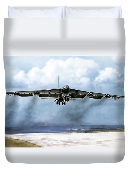 Ascension Duvet Cover by Peter Chilelli