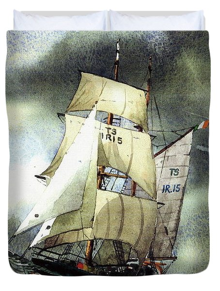 F  758  Asgard 11 Often Sailed Along The Wild Atlantic Way Duvet Cover