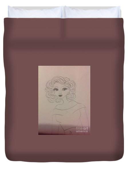 Ashley Barbour Duvet Cover