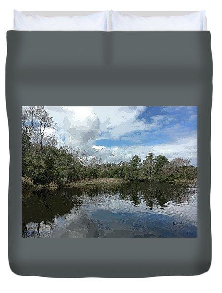 Ashley River Duvet Cover