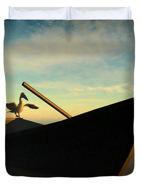 Ashore... Duvet Cover by Tim Fillingim