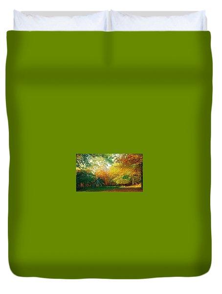 Ashridge Autumn Duvet Cover by Anne Kotan