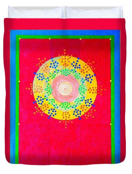 Asia Sun Duvet Cover