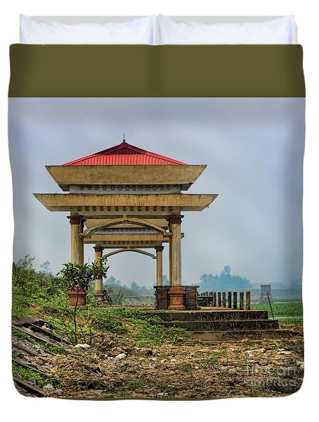 Asian Architecture I Duvet Cover