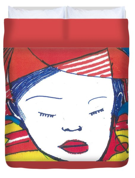 Asian Child Duvet Cover