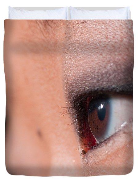 Asian Girl Eyes 1283053 Duvet Cover