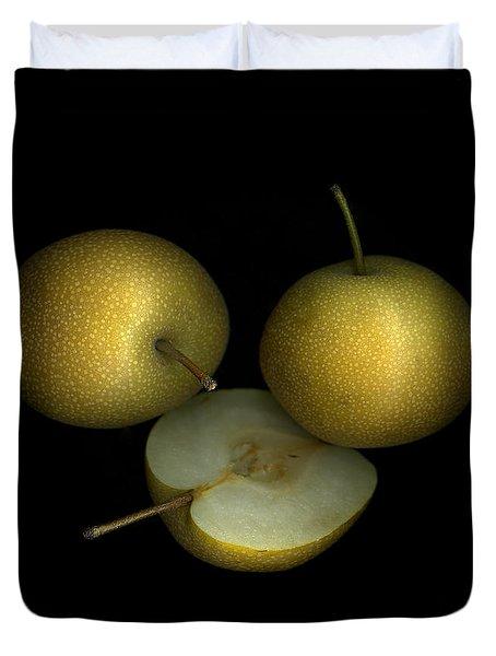 Asian Pears Duvet Cover
