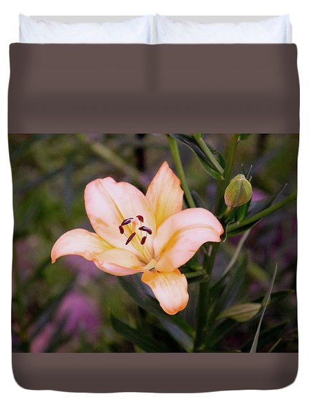 Asiatic Lilly Duvet Cover