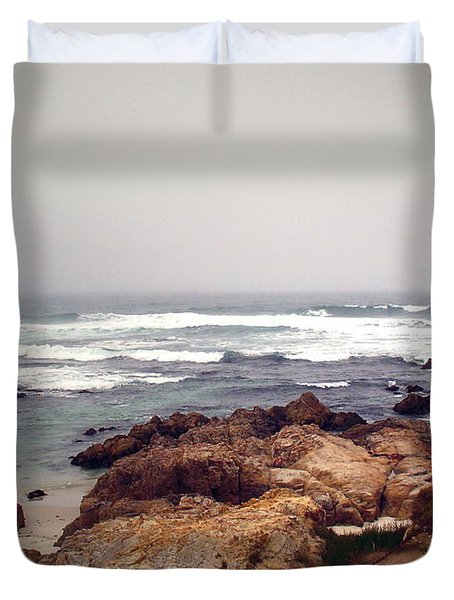 Asilomar Beach Pacific Grove Ca Usa Duvet Cover by Joyce Dickens