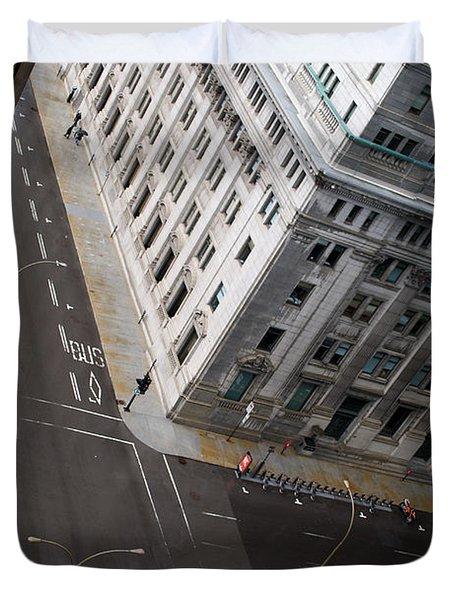 Askew View Duvet Cover by Lisa Knechtel