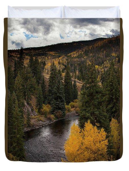 Aspen And Creek Duvet Cover